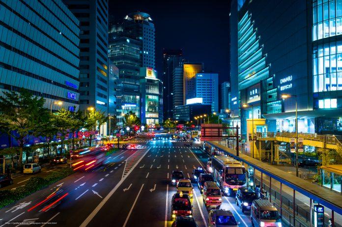 Города Японии