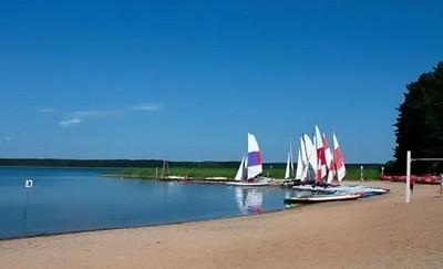 на озере Селигер