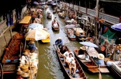 Плавучий рынок Кюрасао