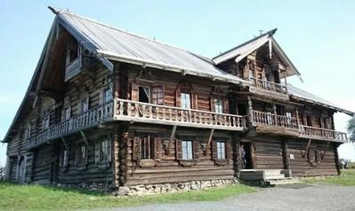 Заонежские дома